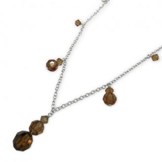 "Stříbrný náhrdelník ""Paula"". Ag 925/1000"